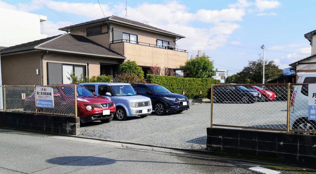 青沼第二駐車場写真